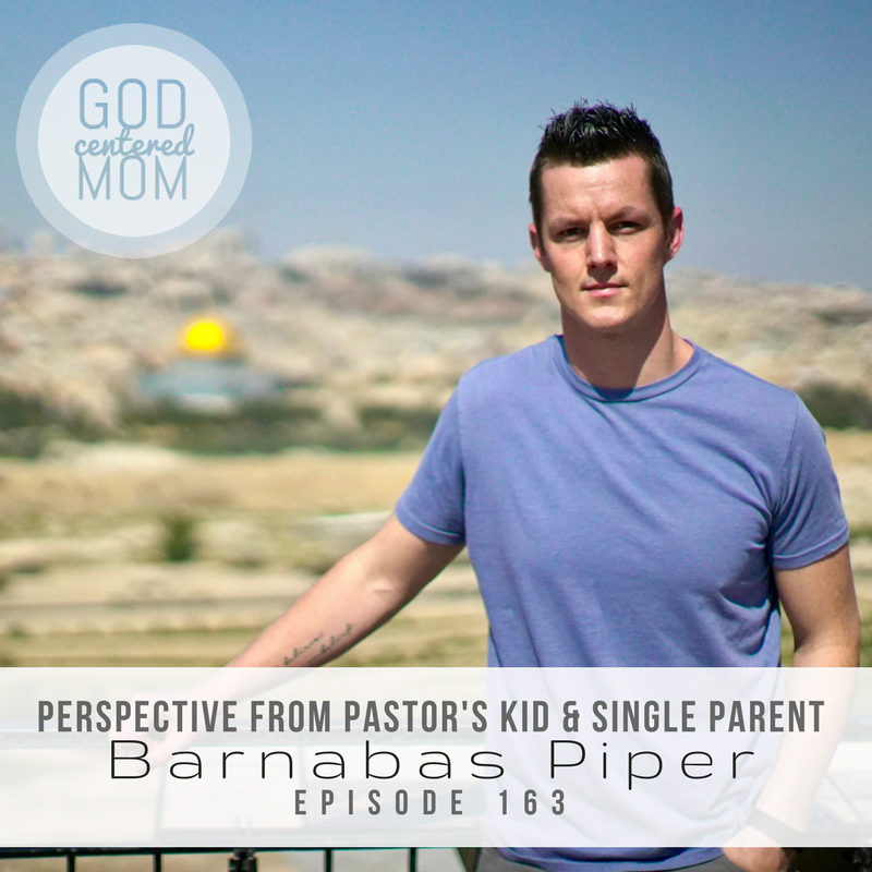 Perspective from Pastor's Kid & Single Parent :: Barnabas Piper [Ep 163]