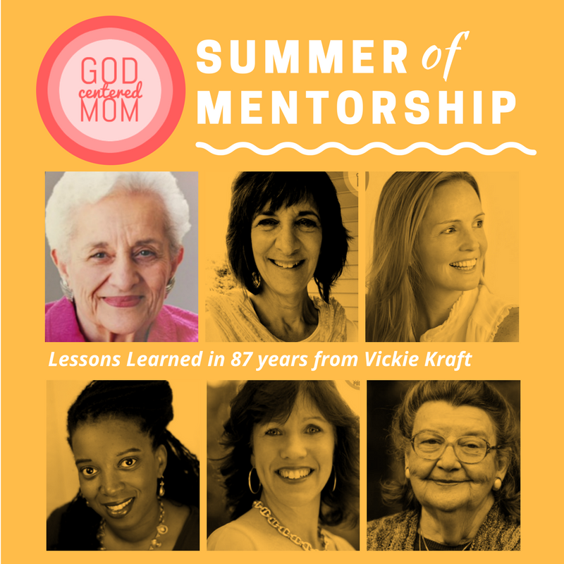 Summer of Mentorship [Week One] :: Vickie Kraft