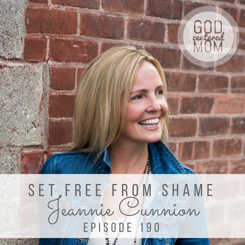 Set Free From Shame :: Jeannie Cunnion [Ep 190]