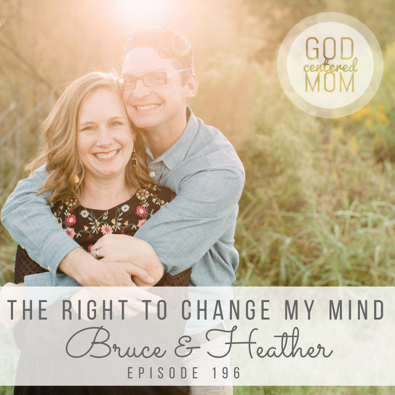 The Right to Change My Mind :: Bruce & Heather [Ep 196]