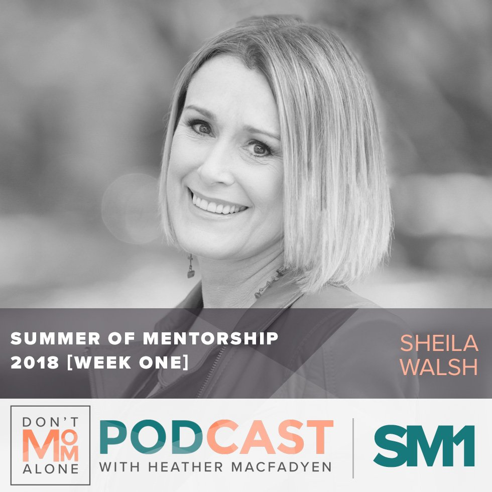Summer of Mentorship 2018 [Week One] :: Sheila Walsh