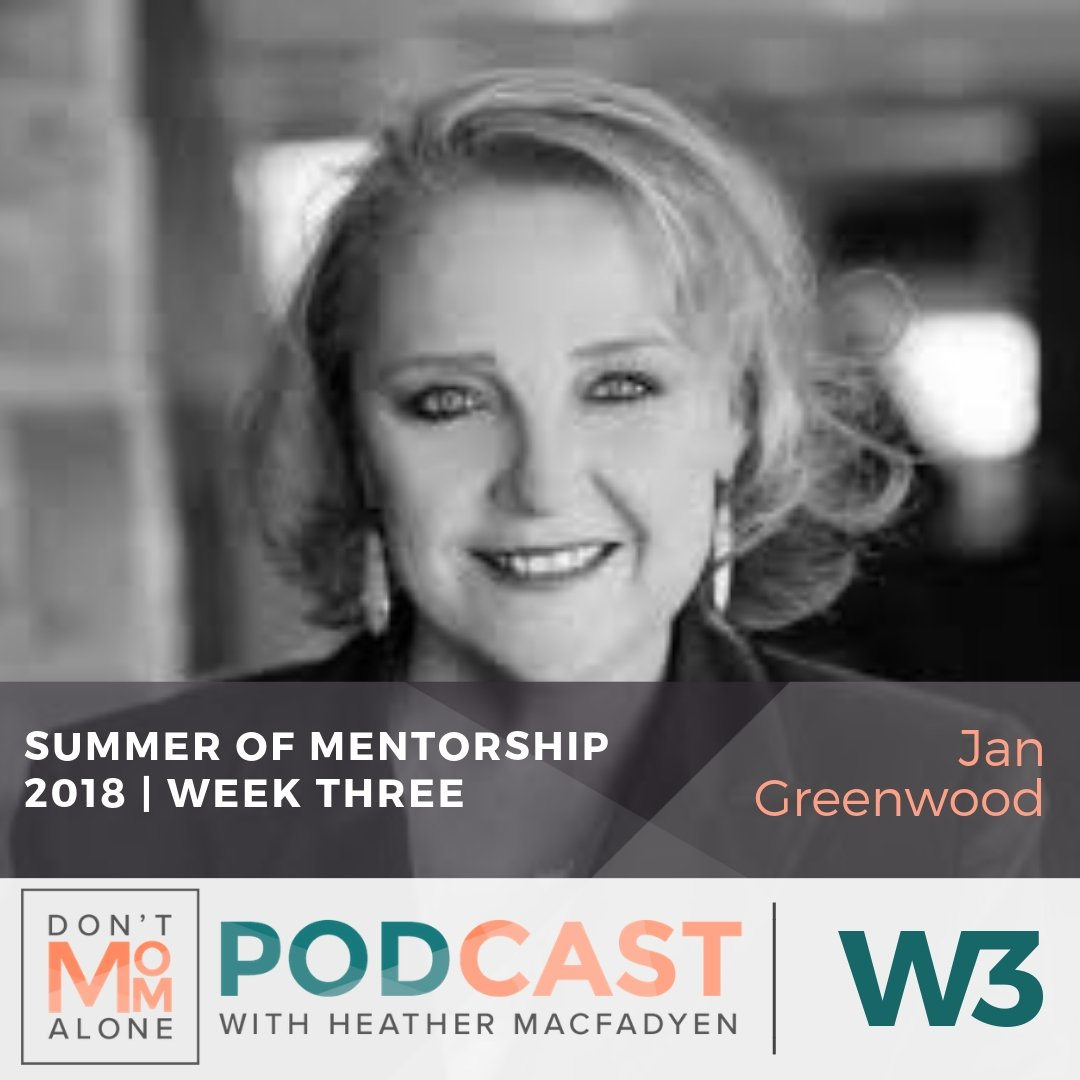 Summer of Mentorship 2018 :: Jan Greenwood [Week 3]