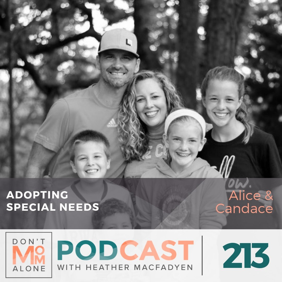 Adopting Special Needs :: Alice & Candace [Ep 213]