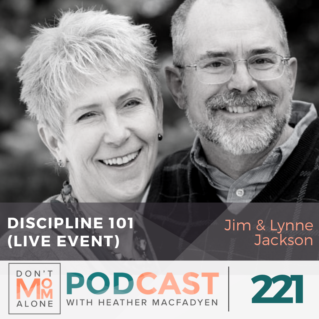 Discipline 101 (LIVE Event–Friday Night) :: Jim & Lynne Jackson [Ep 221]