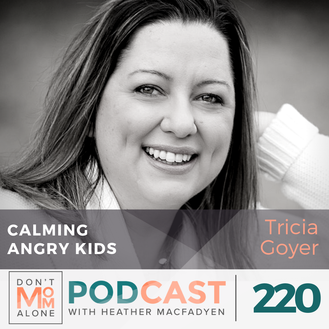 Calming Angry Kids :: Tricia Goyer [Ep 220]