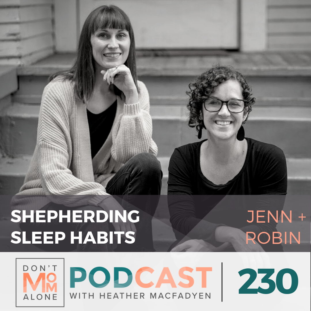 Shepherding Healthy Sleep Habits :: Jenn & Robin of Sleepy Cues [Ep 230]