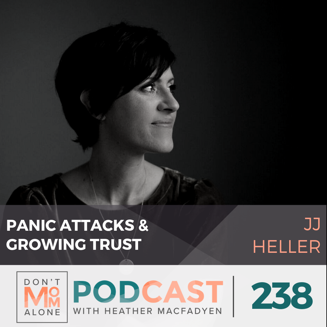 Panic Attacks and Growing Trust :: JJ Heller [Ep 238]