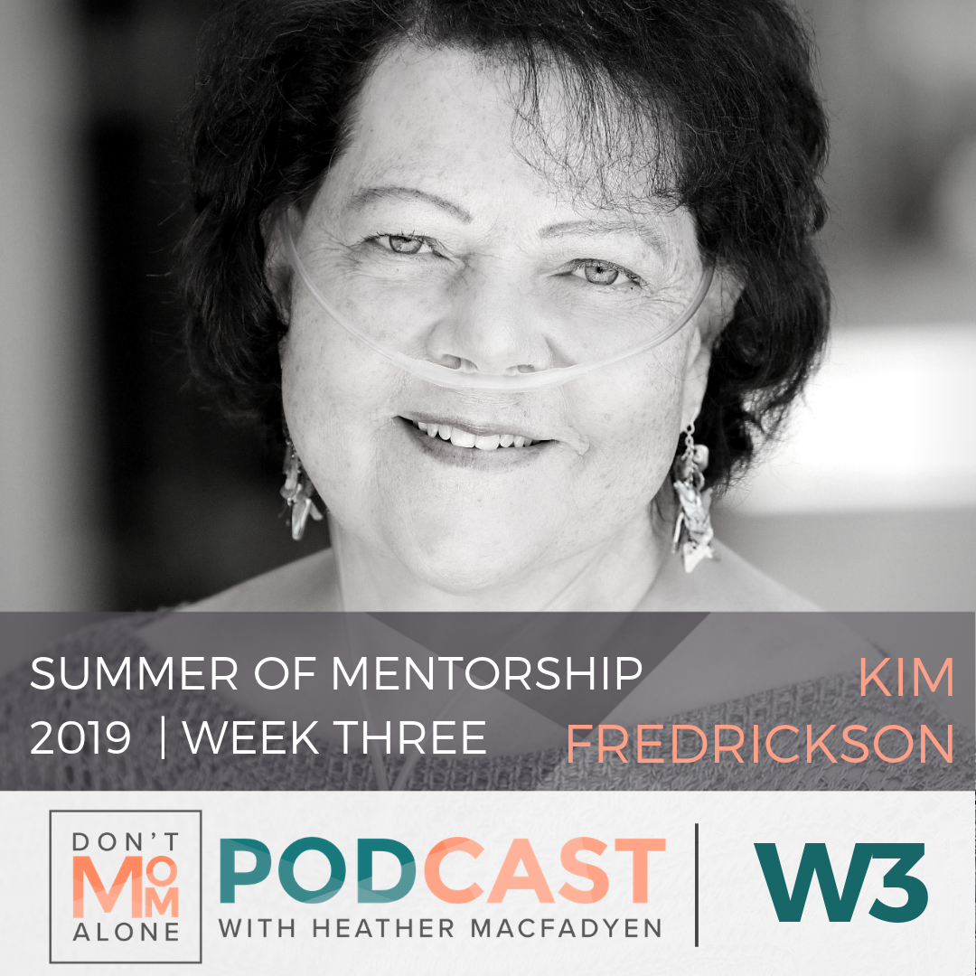 Summer of Mentorship 2019 Week 3 :: Kim Fredrickson