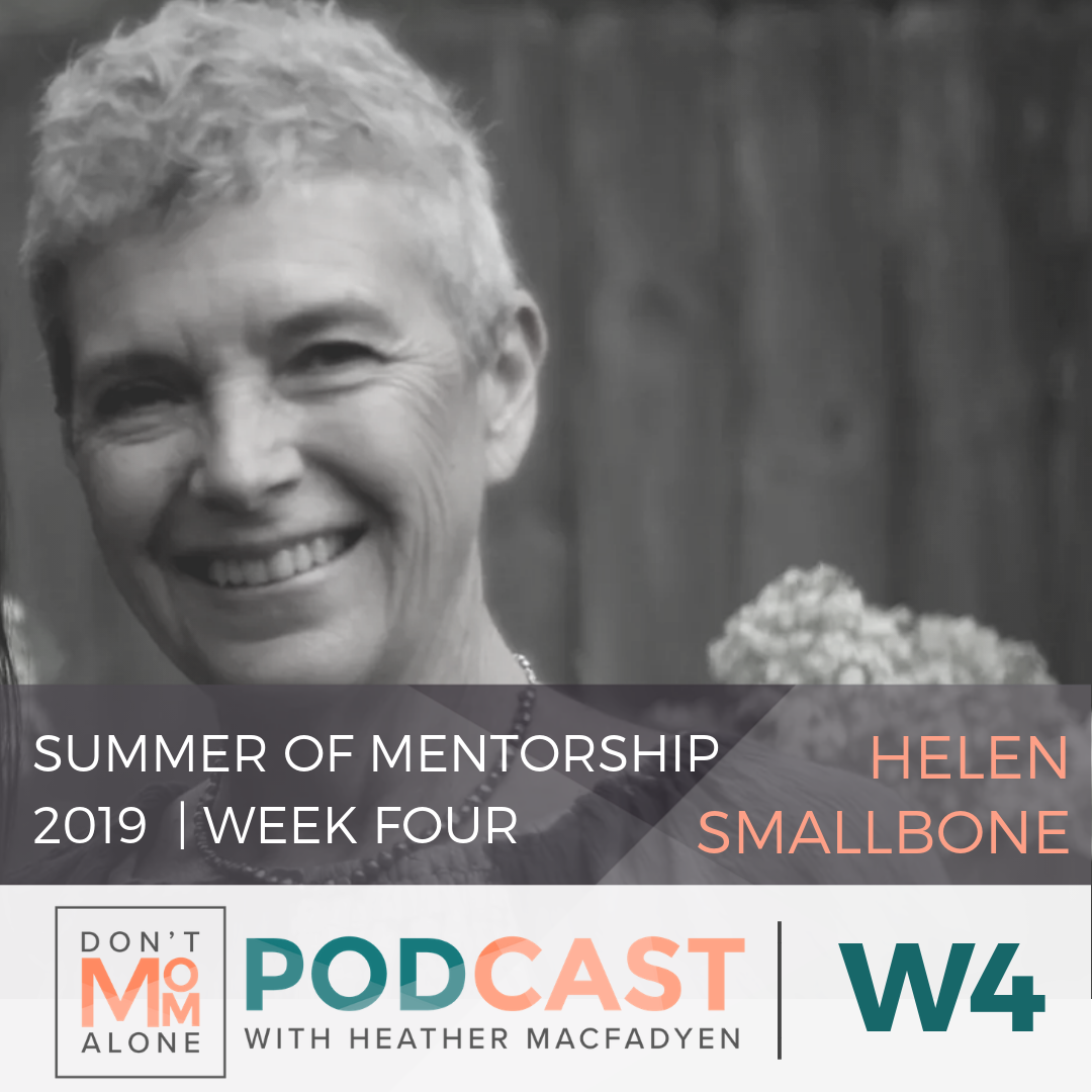 Summer of Mentorship 2019 Week Four :: Helen Smallbone