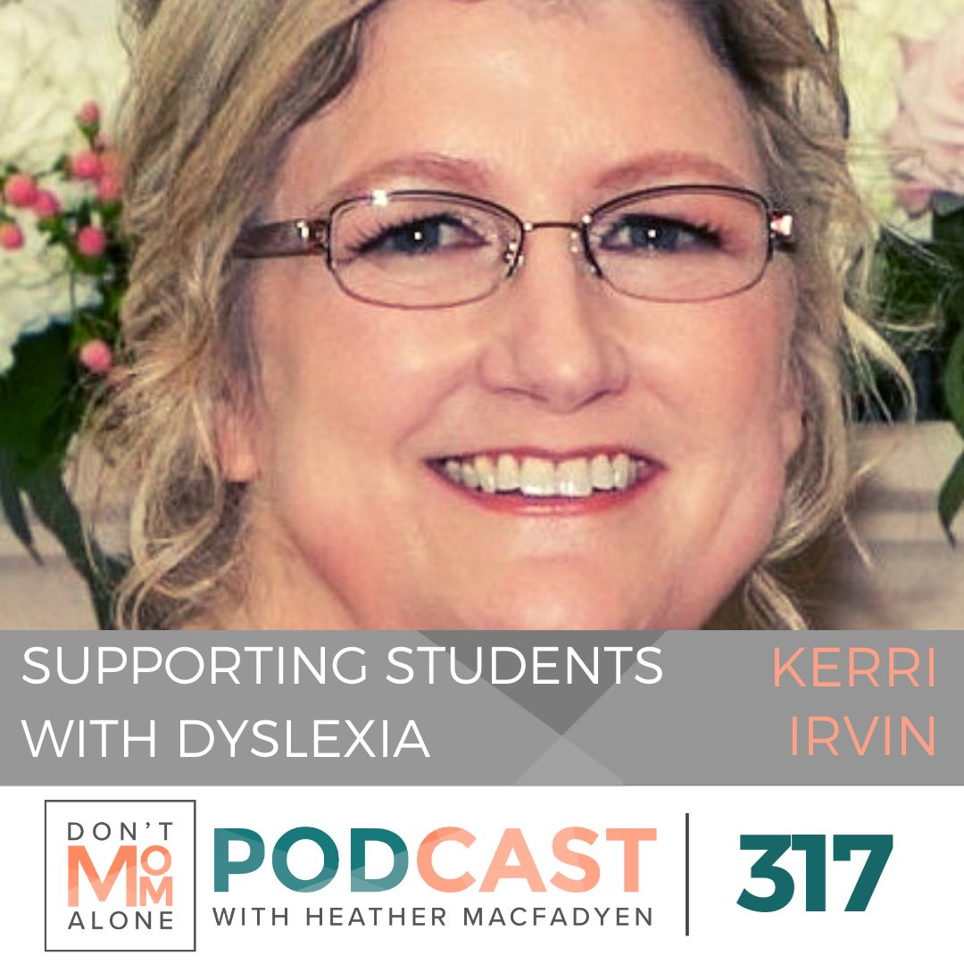 Supporting Students with Dyslexia :: Kerri Irvin [Ep 317]